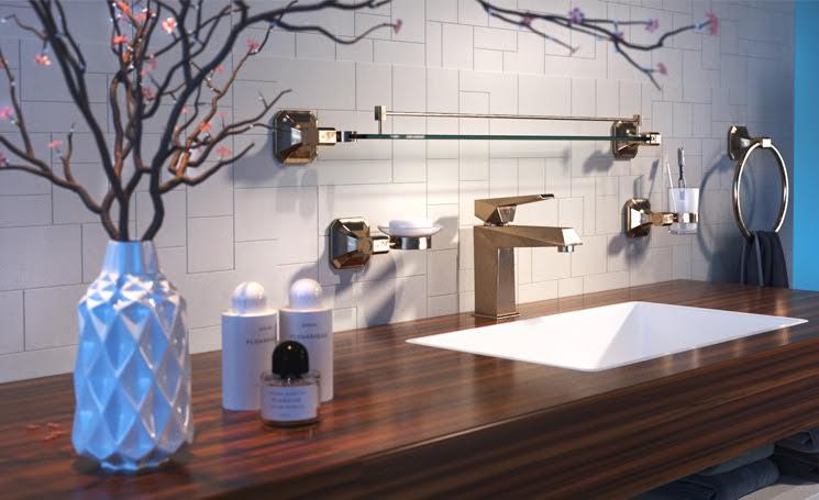 Сантехника для ванной комплект смесители blanco daras хром